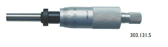 Einbau-Messschrauben 0 - 25 mm mit Einbau-Schraubenmutter