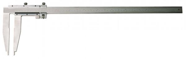 Werkstatt-Messschieber, 1000 x 150 mm, ohne Spitzen, Werksnorm