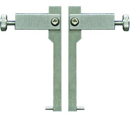 Messeinsätze mit Stift- Messflächen, 10 mm, für Nuten-Messung
