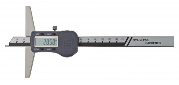 Digital-Tiefen-Messschieber 150 x 100 mm, mit Stiftspitze Ø 1,5 x 6 mm, 3V
