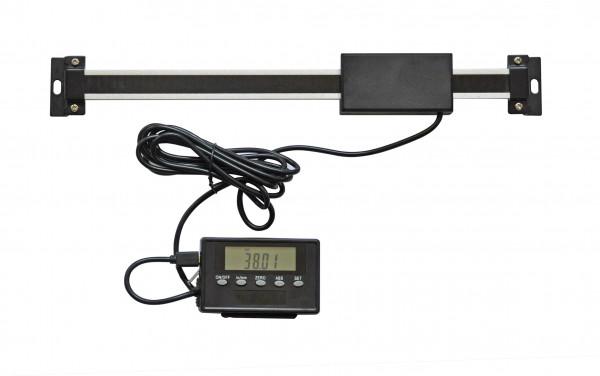 Digital-Einbau-Messschieber, 600 mm, Aluminuim, mit externer Anzeige