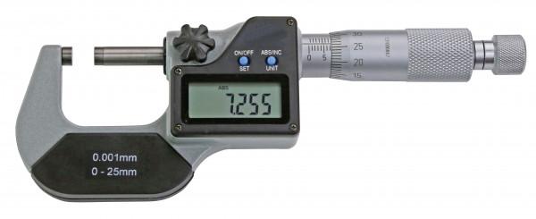 Digital-Bügelmessschraube, 25 - 50 mm, DIN 863