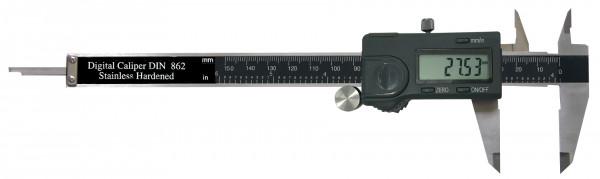 Digital-Taschen-Messschieber, 150 mm, für Linkshänder
