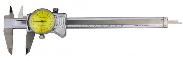 Uhren-Messschieber, 200 x 0,01 mm, DIN 862, TOP