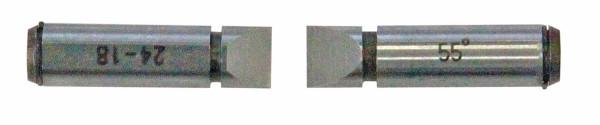 Gewinde-Einsätze, 4,5 - 3,5 TPI, metrisch 55° Whitworth