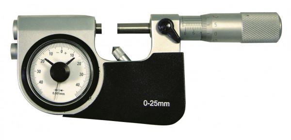 Bügelmessschrauben 25 - 50 mm, mit Feinzeiger