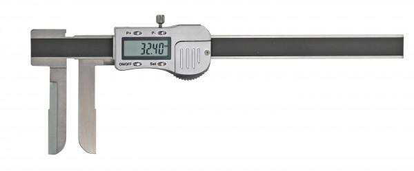 Digital-Messschieber, 13 - 150 mm, mit extra langem Messschnabel, 3 V