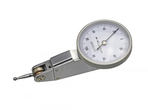 Fühlhebelmessgerät, 0,2 x 0,002 mm, Ø 32 mm, horizontal