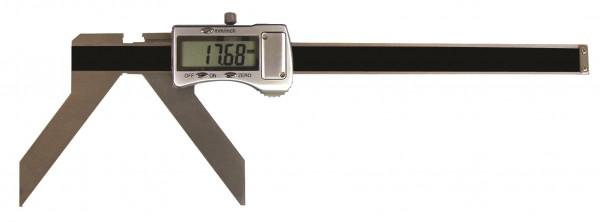 Digital-Messschieber, 3 - 50 mm, zur Messung von Bogen und Radius