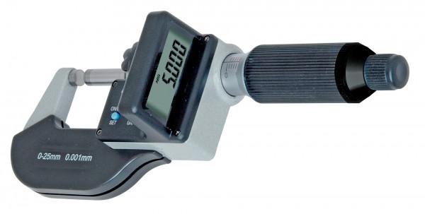 Digital-Blechdicken-Bügelmessschraube 0 - 25 mm, DIN 863