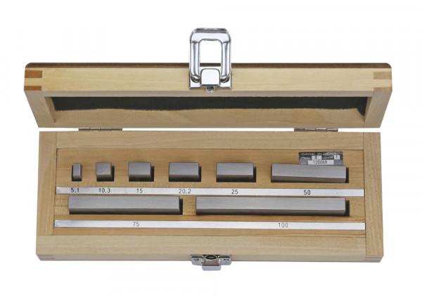 Parallelendmaß-Prüfsatz für Mikrometer nach DIN 863