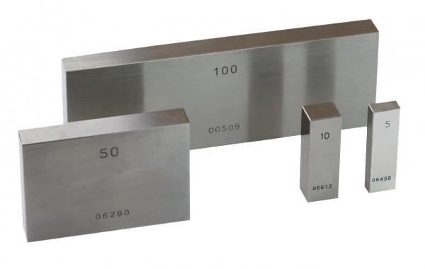Single gauge block 9,5 mm, Degree 1