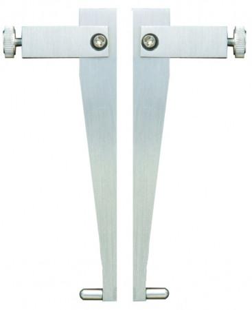 Messeinsätze mit balligen Messflächen aussen, Ø 2 mm
