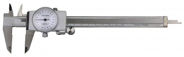 Uhren-Messschieber,  300 x 0,02 mm, DIN 862