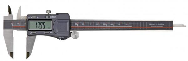 Digital-Taschen-Messschieber, 200 mm, IP 54, Absolut Messsystem, 3 V