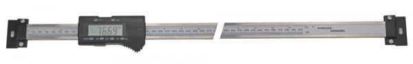 Digital-Einbau-Messschieber, 1000 mm, waagerecht, DIN 862, 3 V