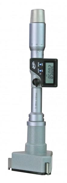 Digital-Dreipunkt-Innen-Messschrauben 6 - 8 mm, mit Skalierung