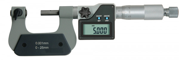 Digital-Gewinde-Messschraube 75 - 100 mm