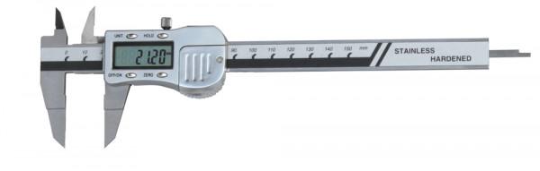 Digital caliper with thin jaws 0-150 mm 3V