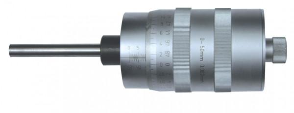 Einbau-Messschraube, mit Großtrommel, 0 - 50 mm, DIN 863