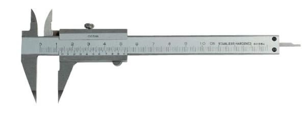 Klein-Messschieber mit spitzem Schnabel, DIN 862