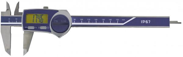 Digital-Taschenmessschieber, 200 mm, IP 67, DIN 862