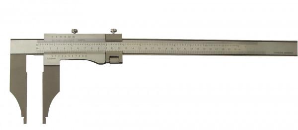 Präzisions-Werkstatt-Messschieber, 800 x 150 mm, ohne Spitzen, DIN 862