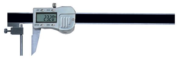 Digital-Messschieber, 4 - 150 mm, zur Wanddickenmessung, 3 V, extra lang