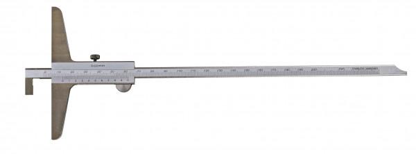 Tiefen-Messschieber 300 x 150 mm, mit umsteckbarer Stange, DIN 862