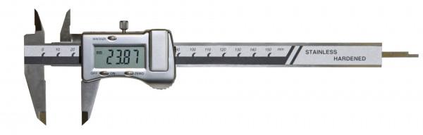 Digital pocket caliper, 150 mm, DIN 862
