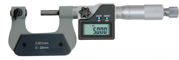 Digital-Universal-Messschrauben 150 - 175 mm, mit auswechselbaren Einsätzen