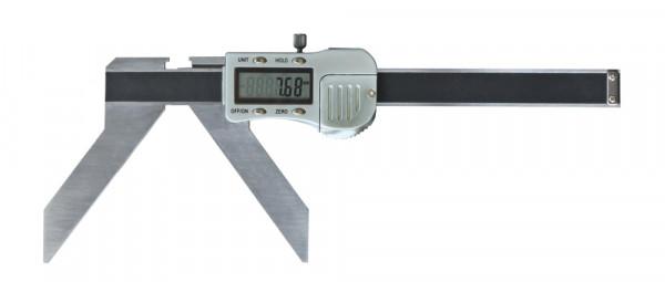 Digital-Messschieber, 3 - 100 mm, zur Messung von Bogen und Radius, 3 V
