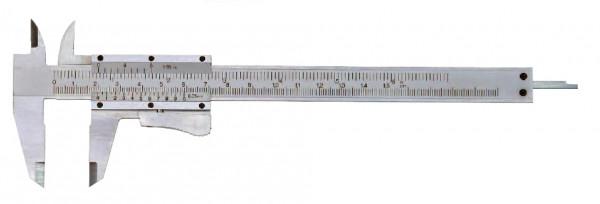 Taschen-Messschieber, 150 mm, mit Momentfeststellung