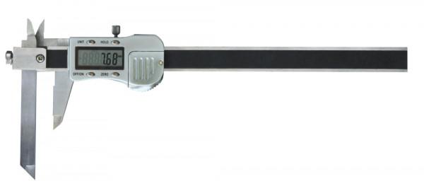 Digital-Taschen-Messschieber, 200 mm, mit verschiebbarem Messschnabel, 3 V