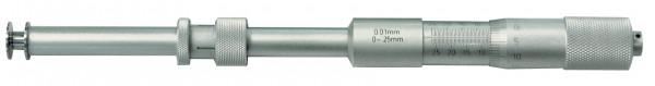 Quernuten-Messschrauben, 0 - 25 mm, Länge 223 mm
