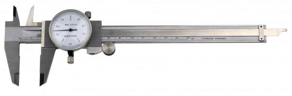 Uhren-Messschieber, 150 x 0,05 mm, DIN 862