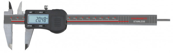 Digital-Taschen-Messschieber, 150 mm, antimagnetisch, DIN 862