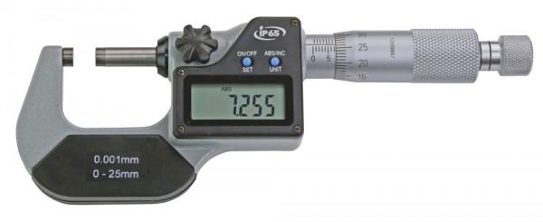 Digital-Bügelmessschraube 0 - 25 mm, IP 65, DIN 863