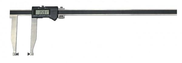 Digital-Universal-Messschieber, 500 mm, mit Aufnahme für Messeinsätze Ø 5 mm