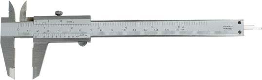 Taschen-Messschieber, 300 mm, mit Feststellschraube, DIN 862