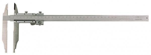 Werkstatt-Messschieber, 300 x 60 mm, mit Spitzen, Werksnorm