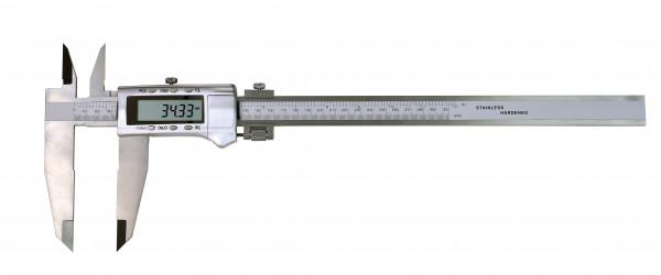 Digital-Werkstatt-Messschieber, 300 x 90 mm, mit Kreuzspitzen und Messerschnabel