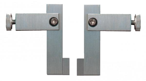 Messeinsätze mit schmalem Schnabel, L 60 x  B 0,8 mm, zur Nutenmessung