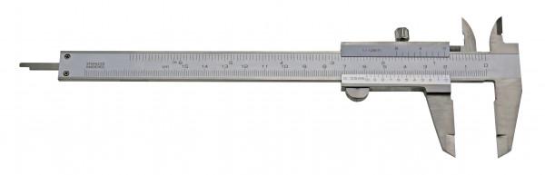 Taschen-Messschieber, 150 mm, für Linkshänder, DIN 862