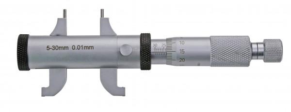 Innen-Messschrauben 5 - 55 mm mit Doppel-Messschnabel