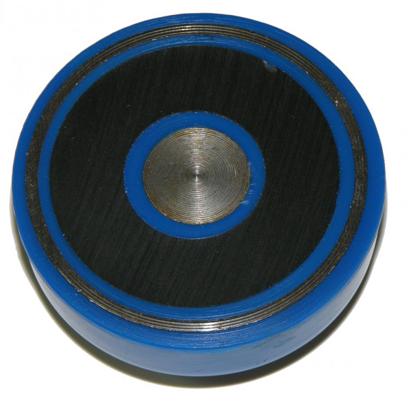 Magnetic dial supports