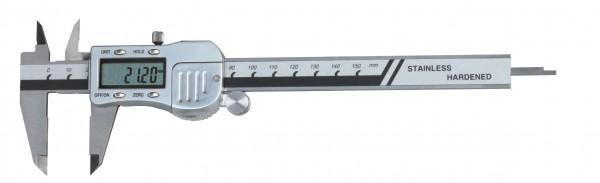 Digital-Taschen-Messschieber, 200 mm, 3 V, Metallgehäuse, DIN 862