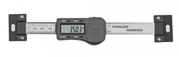 Digital-Einbau-Messschieber, 200 mm, waagerecht, DIN 862, 3 V
