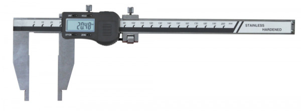 Digital-Werkstatt-Messschieber, 200 x 75 mm, ohne Spitzen, 3 V