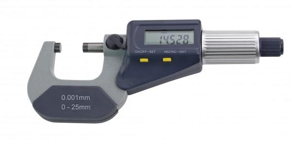 Digital-Bügelmessschraube 50 - 75 mm, DIN 863